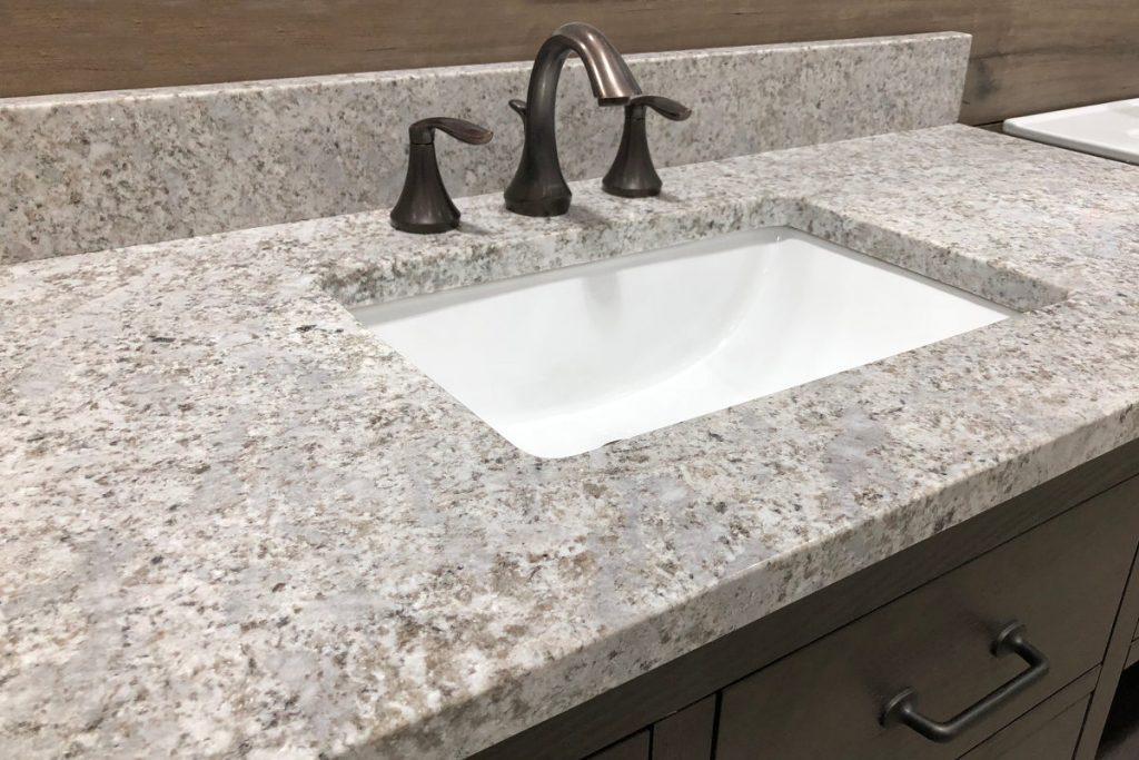 Quartz Bathroom Countertops in Lakeland, Florida